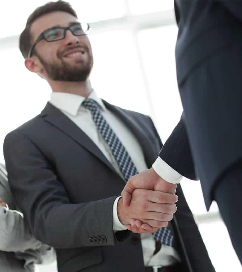 Consumer making a deal